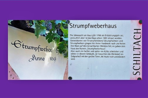 Begegnung mit alter Handwerkskunst im der historischen Fachwerkstadt Schiltach