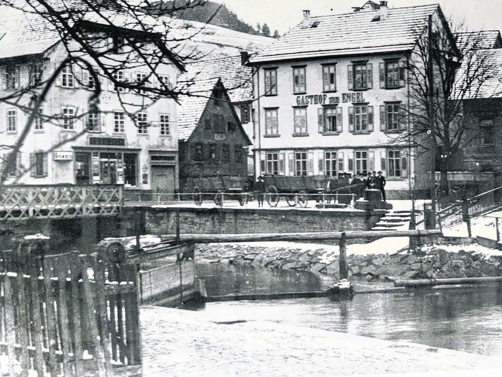 1880 Gasthof zum Engel an derSchiltachbrücke