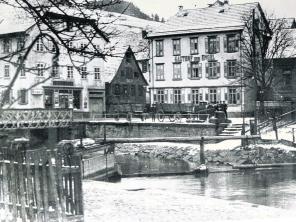 1880 Gasthof Engel an der Schiltachbrücke