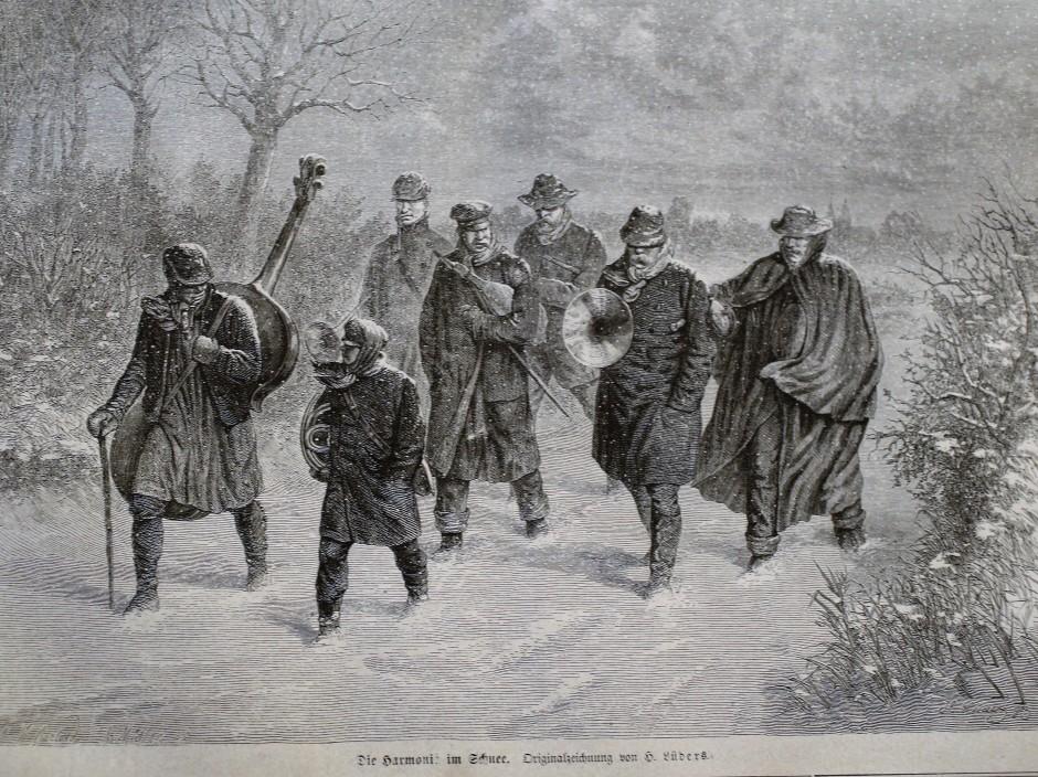 1780 Harmonie im Schnee