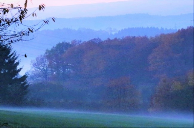 Aufsteigender Nebel am Mottenkopf