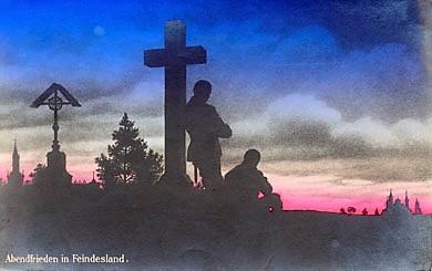 Kreuz im Feindesland